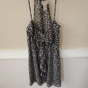 Eyelash Couture  Leopard Print Dress